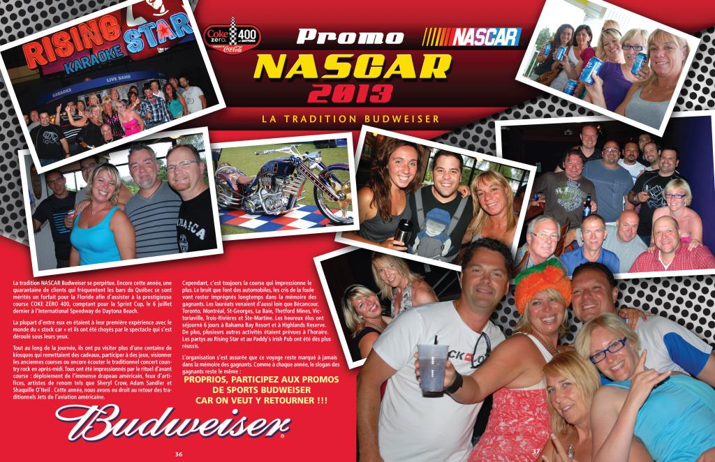 Promo Nascar 2013
